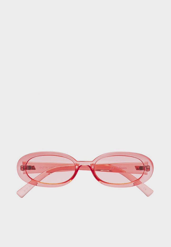 Le Specs Outta Love Sunglasses - coral - Good As Gold