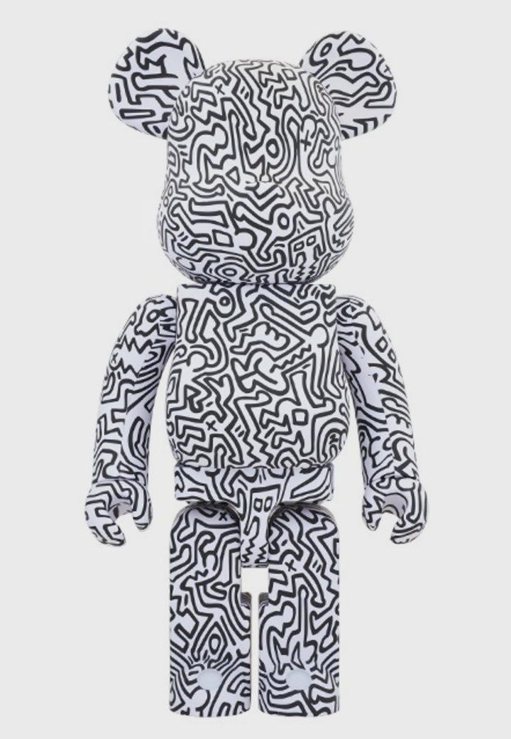 Medicom Toy | Be@rbrick Keith Haring #4 - 1000% figure | Good As Gold, NZ