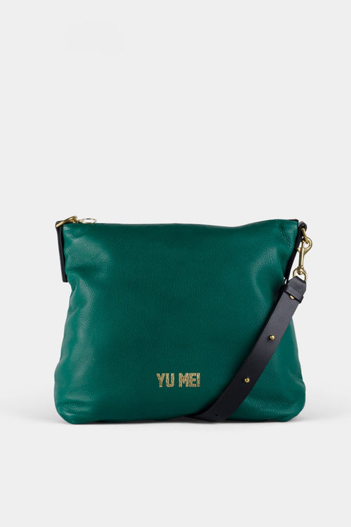 Yu Mei 3/4 Braidy Bag - bottle green – Good as Gold
