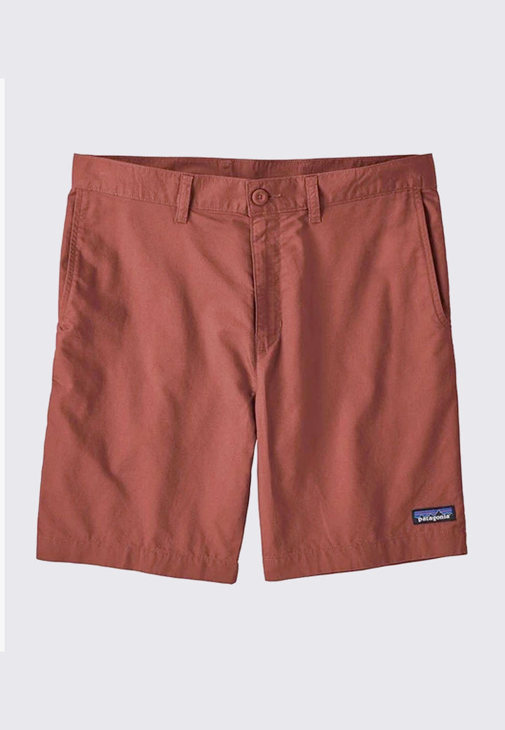8inch Light Weight All-Wear Hemp Shorts - spanish red