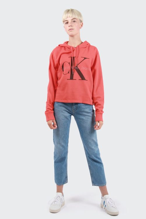 Calvin Klein Colour Pop Hoodie - wild orange | GOOD AS GOLD | NZ