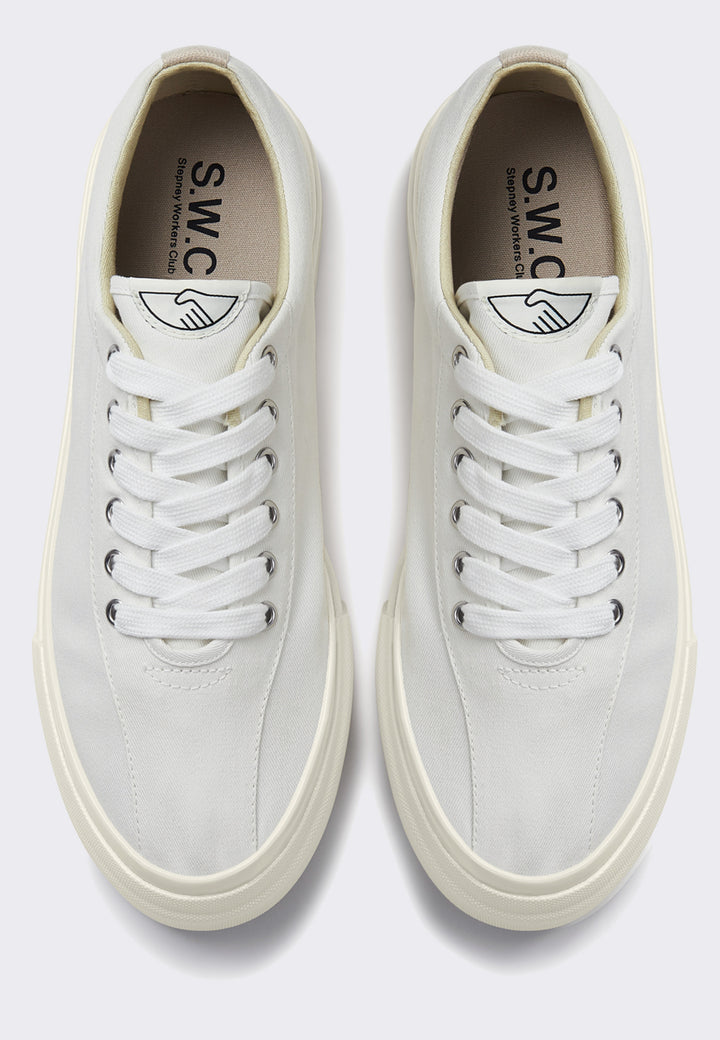 Dellow Canvas - white