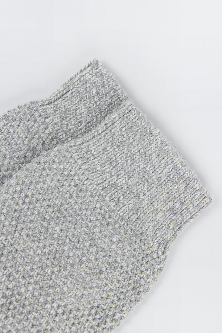 Democratique Relax Sailor Knit Supermelange - light grey/off white | GOOD AS GOLD | NZ