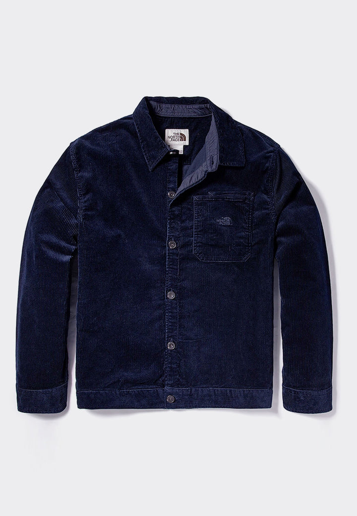 Berkeley Cord Overshirt - aviator navy