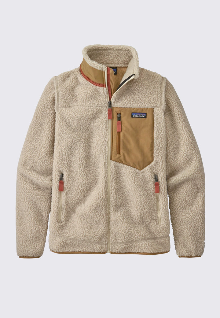 Womens Classic Retro-X Jacket - natural/nest brown