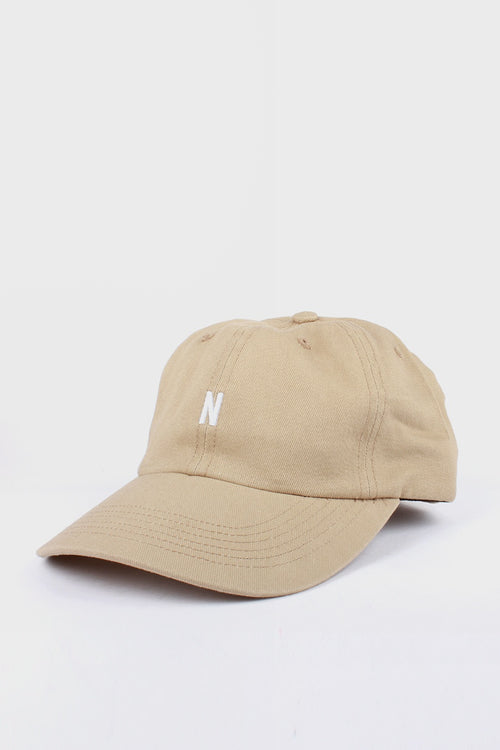 Norse Projects N Logo Cap - utility khaki - Good As Gold
