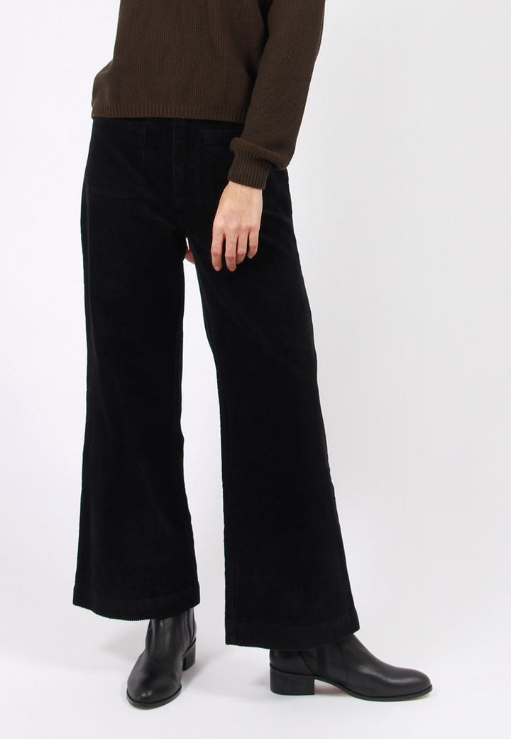 Rollas Sailor Cord Pant - black | GOOD AS GOLD | NZ