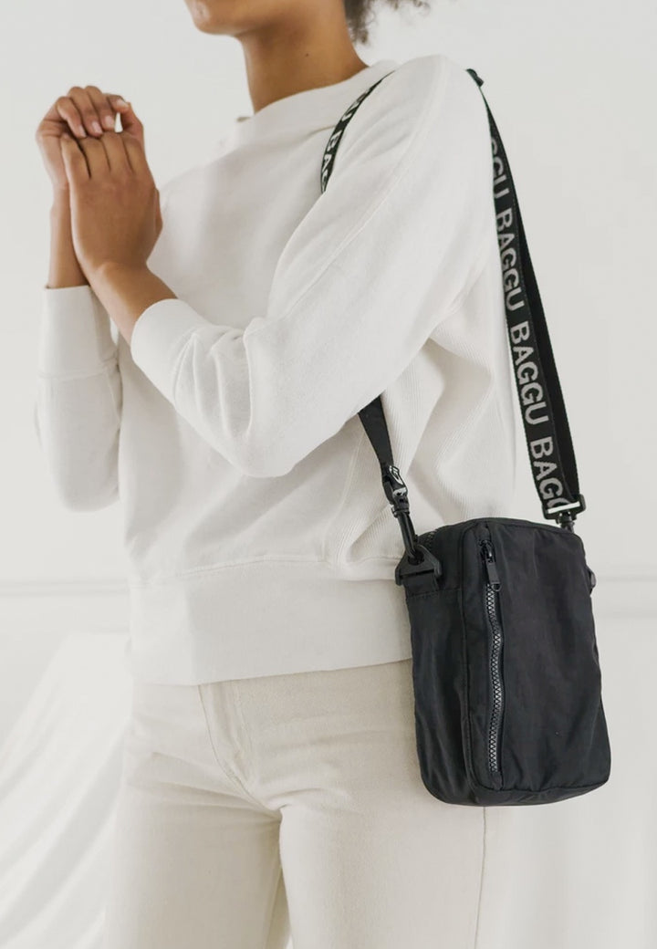 Baggu | Sport Crossbody Bag - black | Good As Gold, NZ