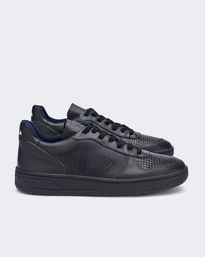 V10 Leather - black/black