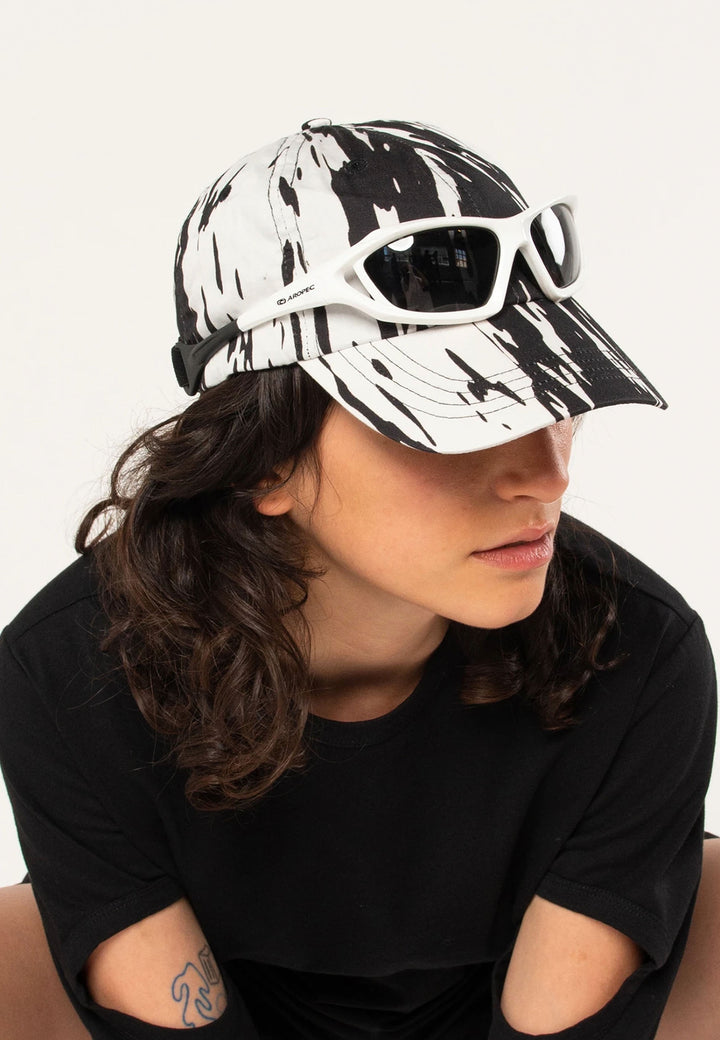 Stripe Lining Cap - black/white