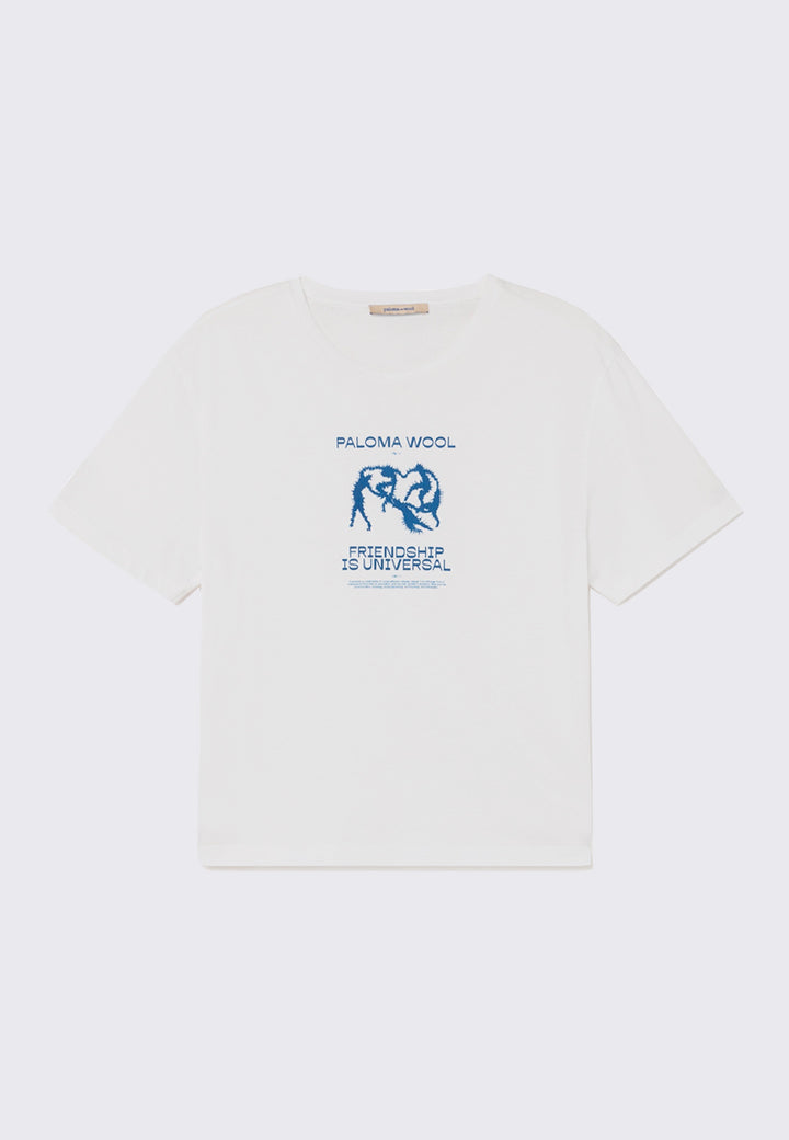 Souvenir Dance T-Shirt - off white