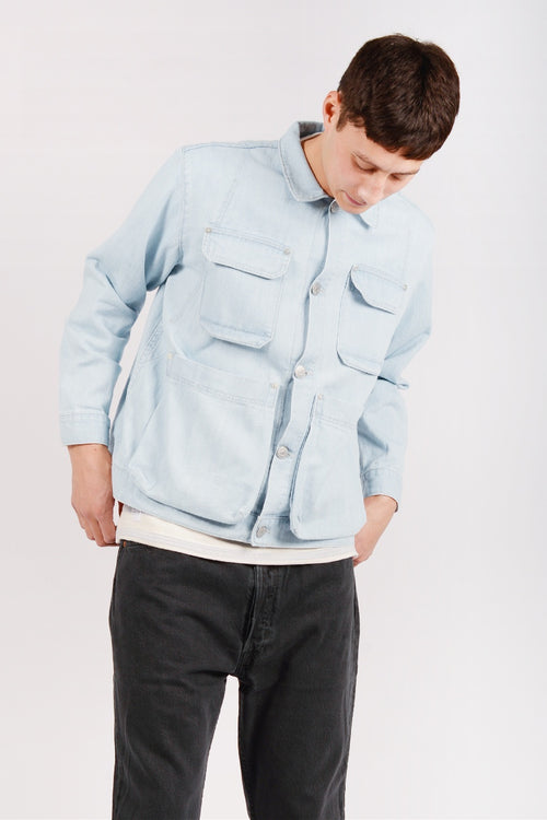 Henrik Vibskov Mads Denim Jacket - blue | GOOD AS GOLD | NZ