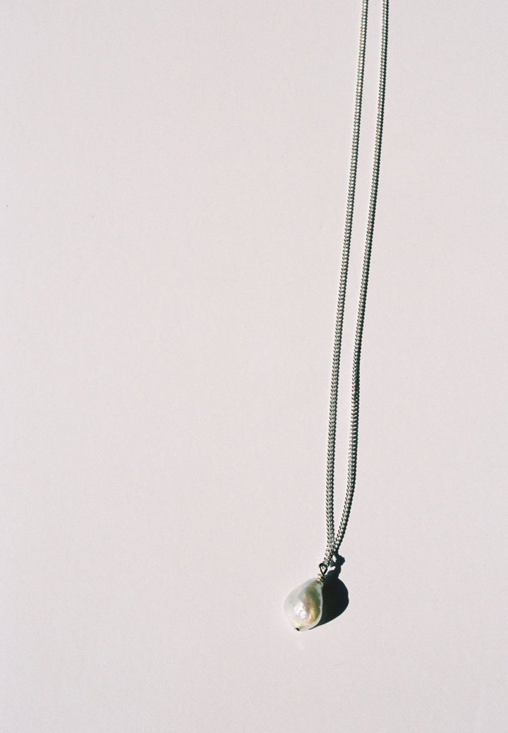 Mars | Betty Necklace - Silver/Pearl | Good As Gold, NZ