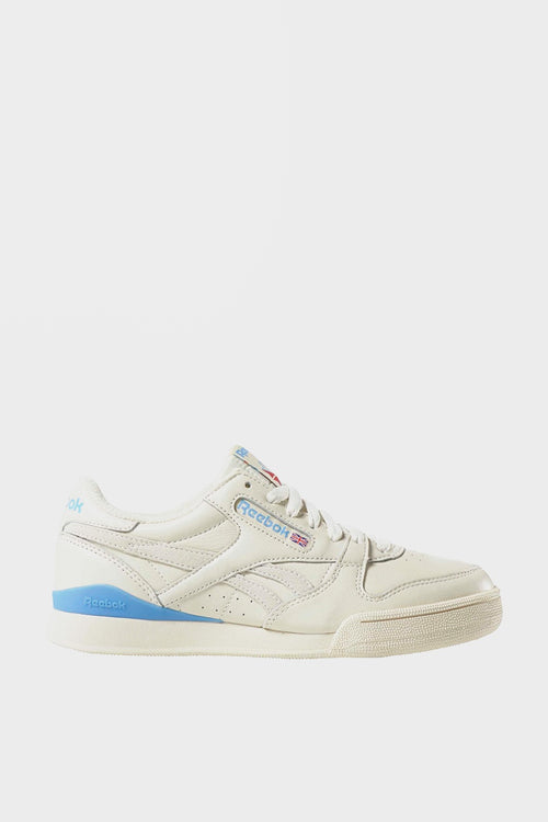 Reebok Womens Phase 1 Pro - vintage chalk/white/blue/red — Good as Gold