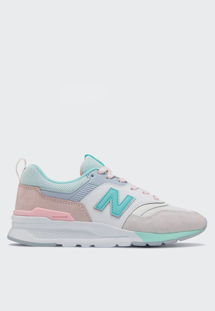 New Balance Womens 997 H - sea salt/light tidepool - Good As Gold