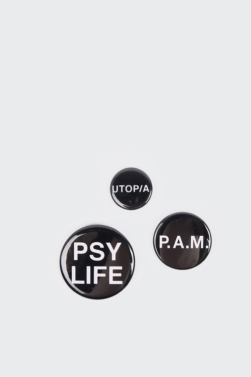 Perks And Mini (PAM) Can Badges 3 Pack - black | GOOD AS GOLD | NZ