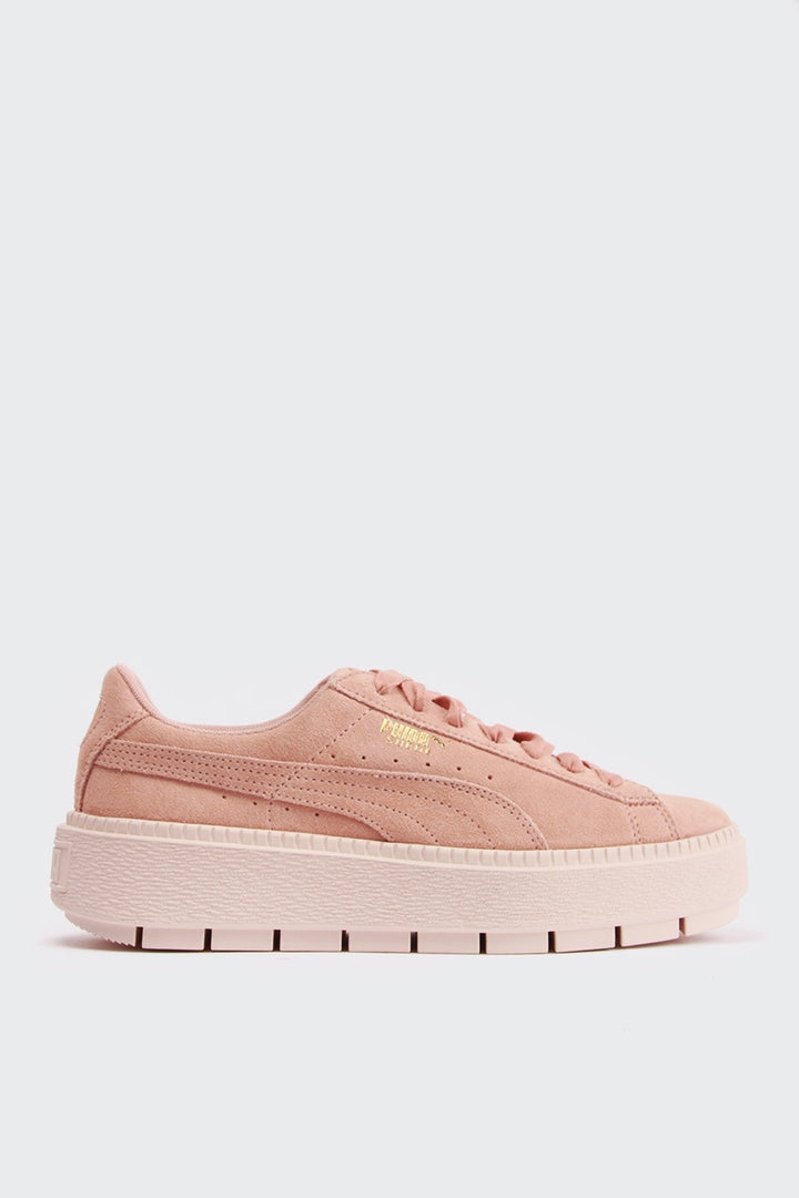 Puma Womens Platform Trace - peach beige/pearl | GOOD AS GOLD | NZ