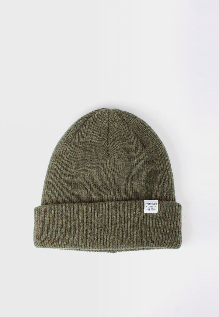 Norse Beanie - light olive