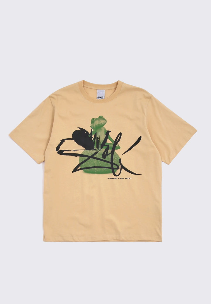 Frog Masters Series T-Shirt - sand