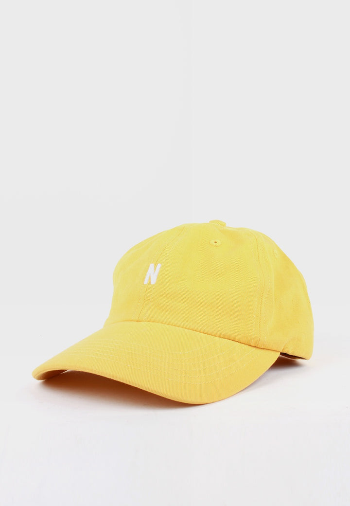 Norse Projects N Logo Cap - sunwashed yellow - Good As Gold