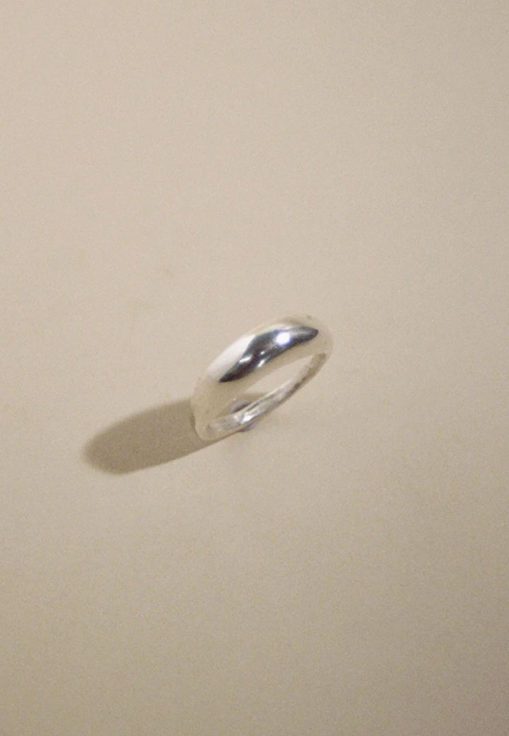 1/2 Blimp Ring - silver