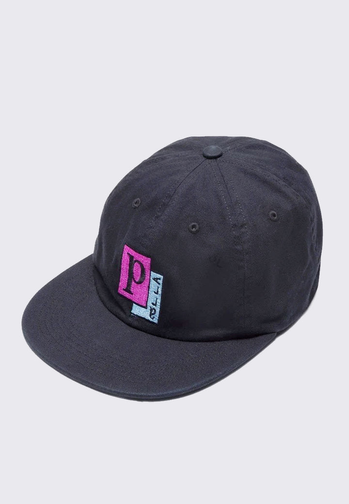 Parra Pages 6 Panel Hat- black