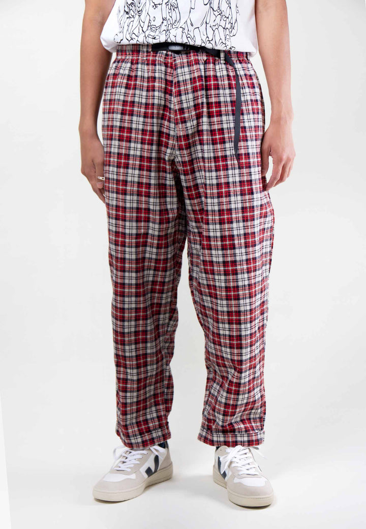 Linen Cotton Resort Pants - madras