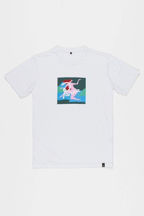 Parra Lagoon T-Shirt - white | GOOD AS GOLD | NZ