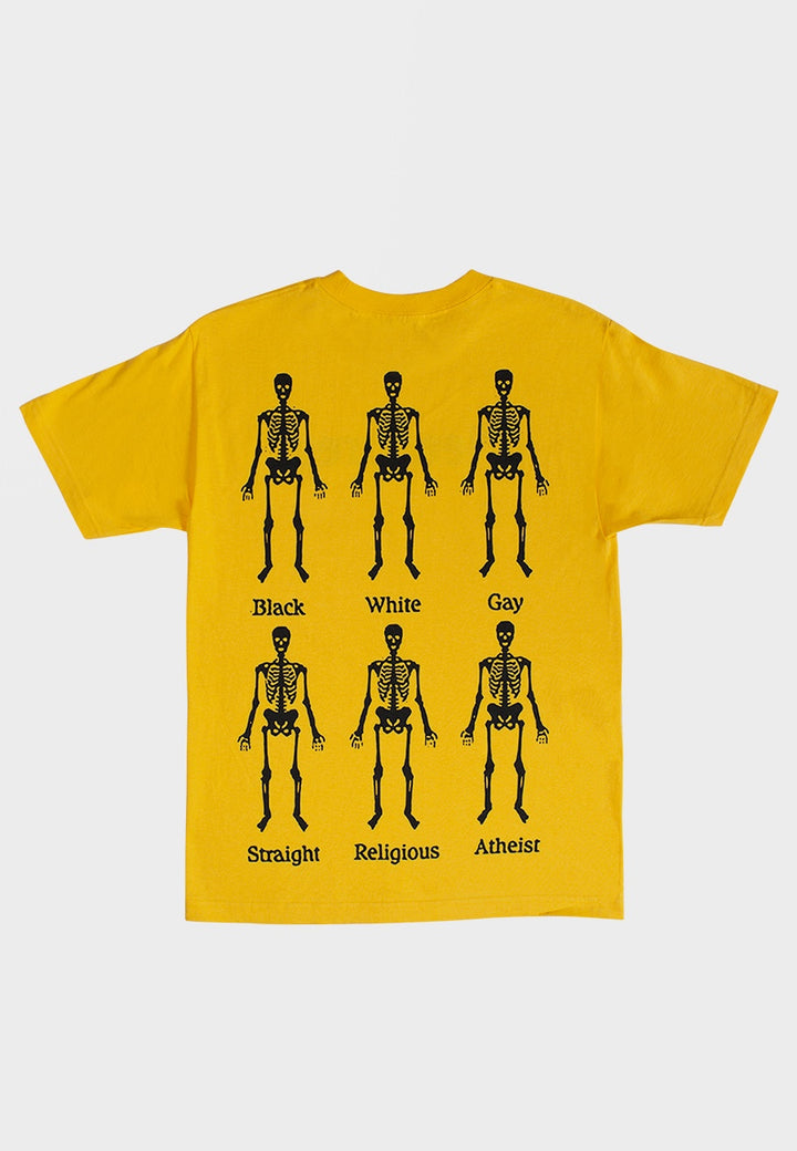 Bones T-Shirt - yellow