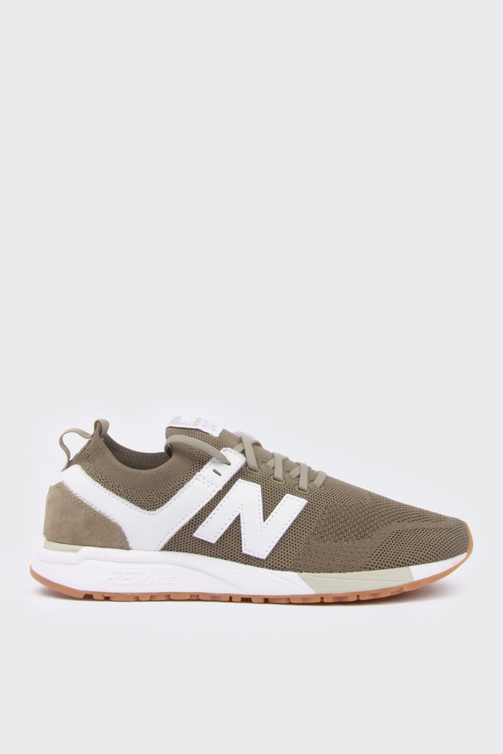 New Balance 247 Deconstructed - dark olive knit | GOOD AS GOLD | NZ