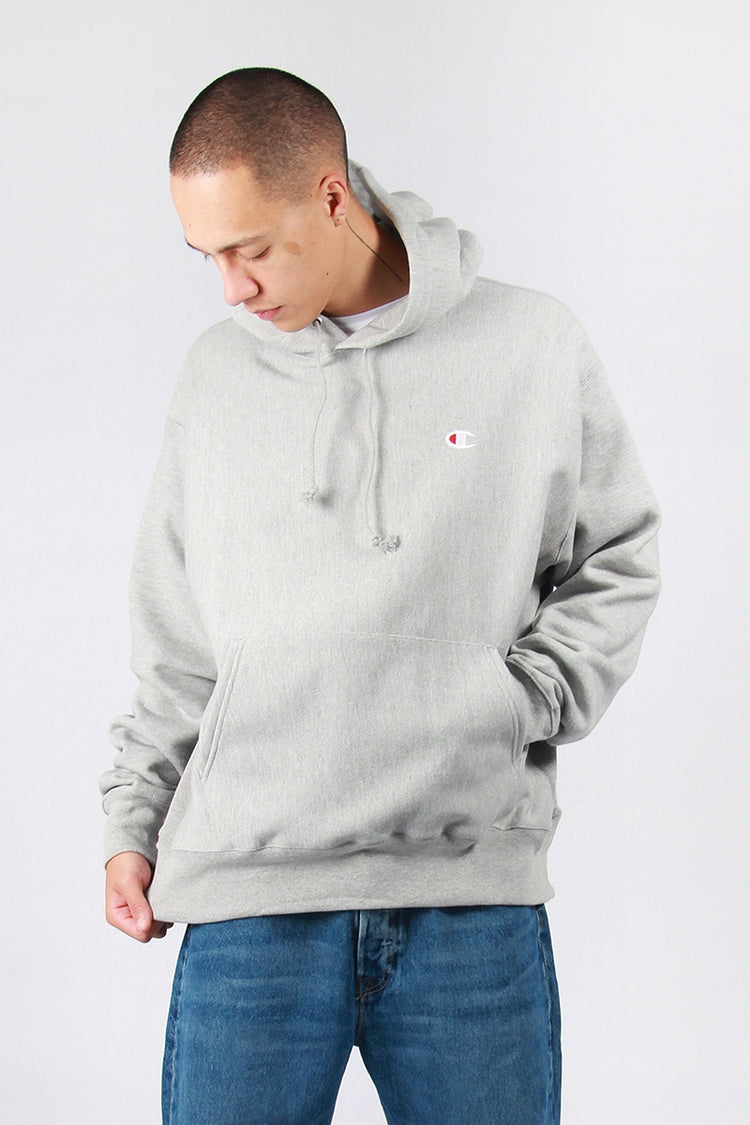 Champion Reverse Weave PO Hoodie - oxford grey | GOOD AS GOLD | NZ