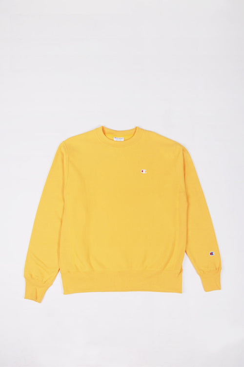Champion Reverse Weave Crew - gold | GOOD AS GOLD | NZ
