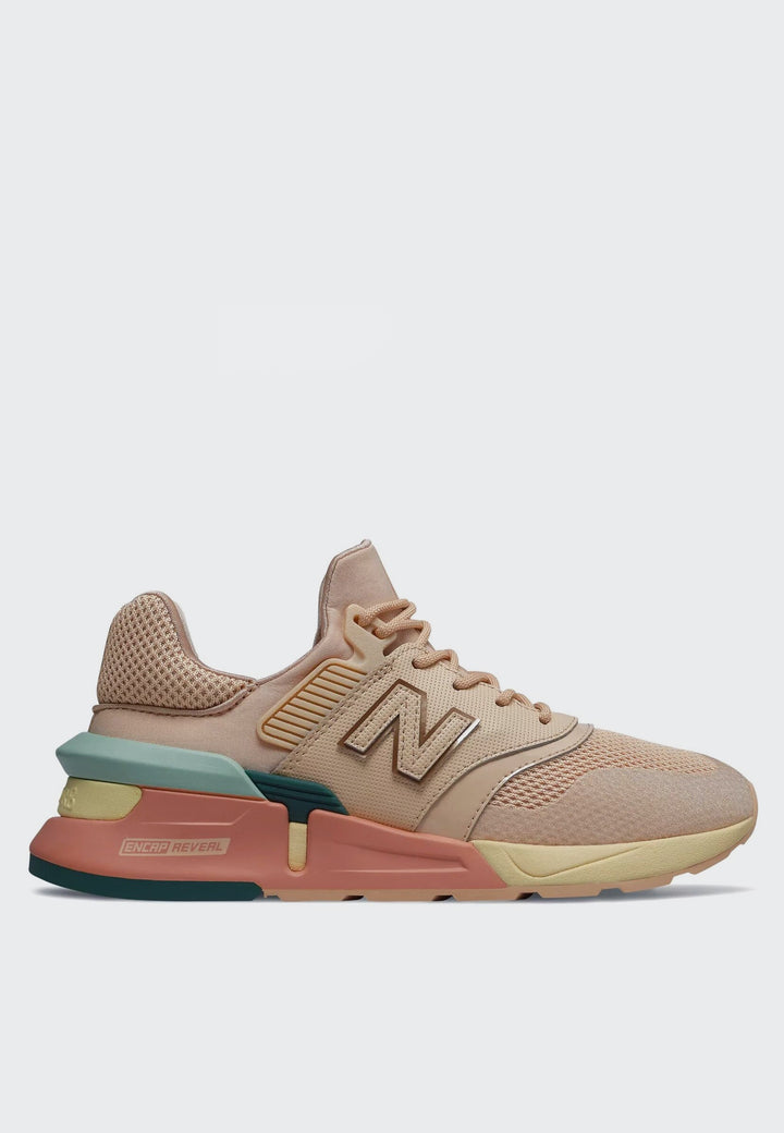 New Balance Womens 997 Sport - sandstone/white agave - Good As Gold