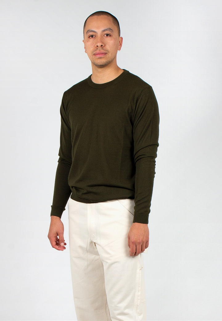 Norse Projects | Sigfred Light Merino - beech green | Good As Gold, NZ