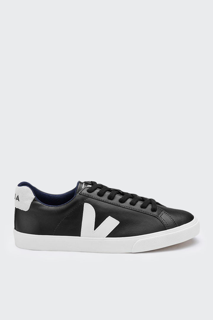 Veja Esplar Low Leather - black/white – Good as Gold