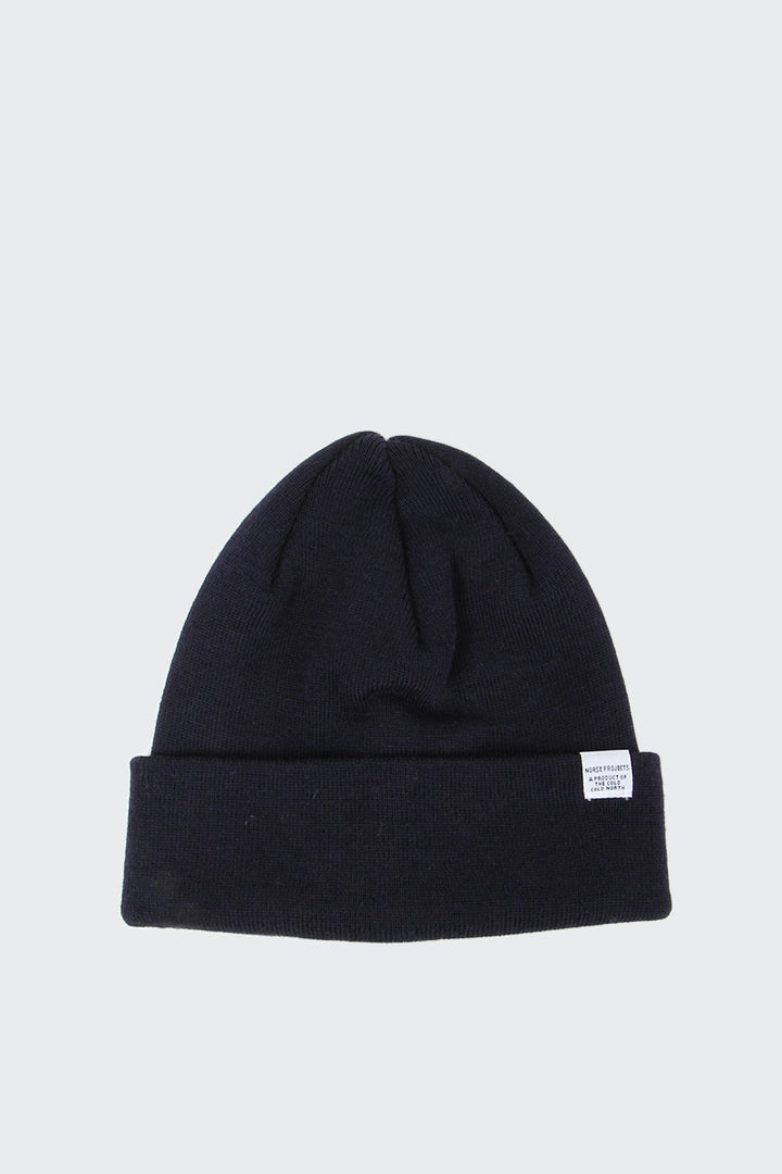 b2620744514 Norse Projects Top Beanie - dark navy – Good As Gold
