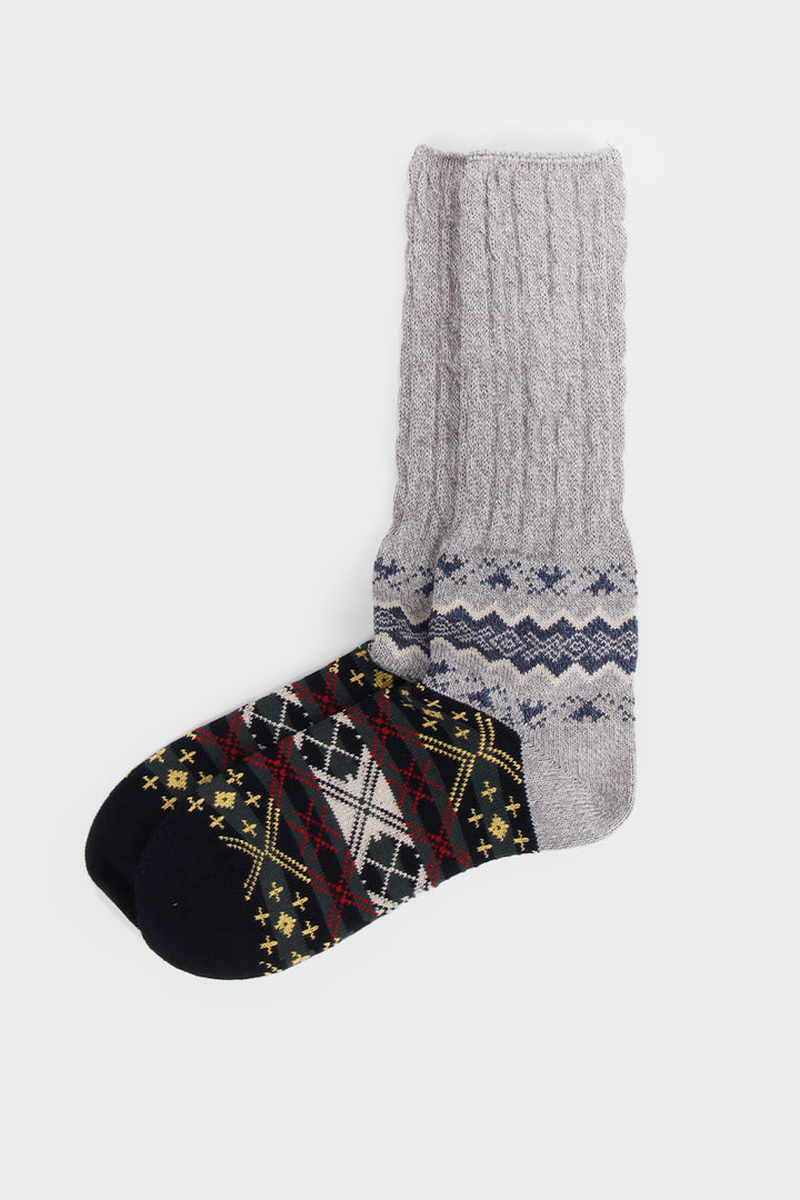 Chup Winter Garden Socks - grey | GOOD AS GOLD | NZ