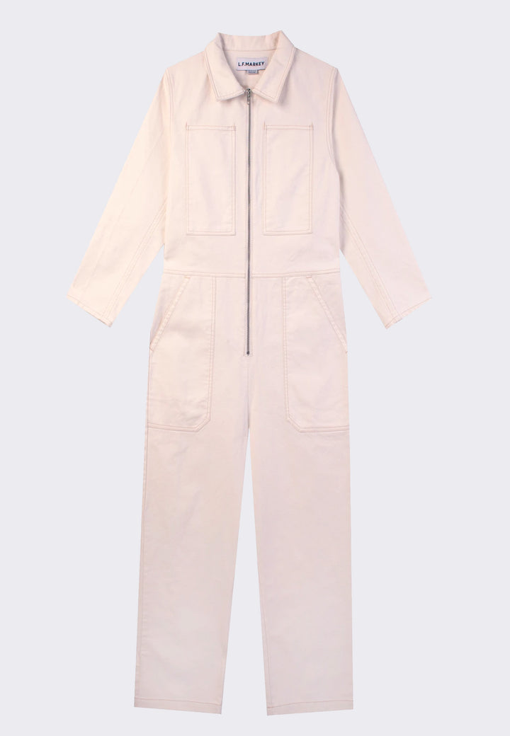 Dominic Boilersuit - white