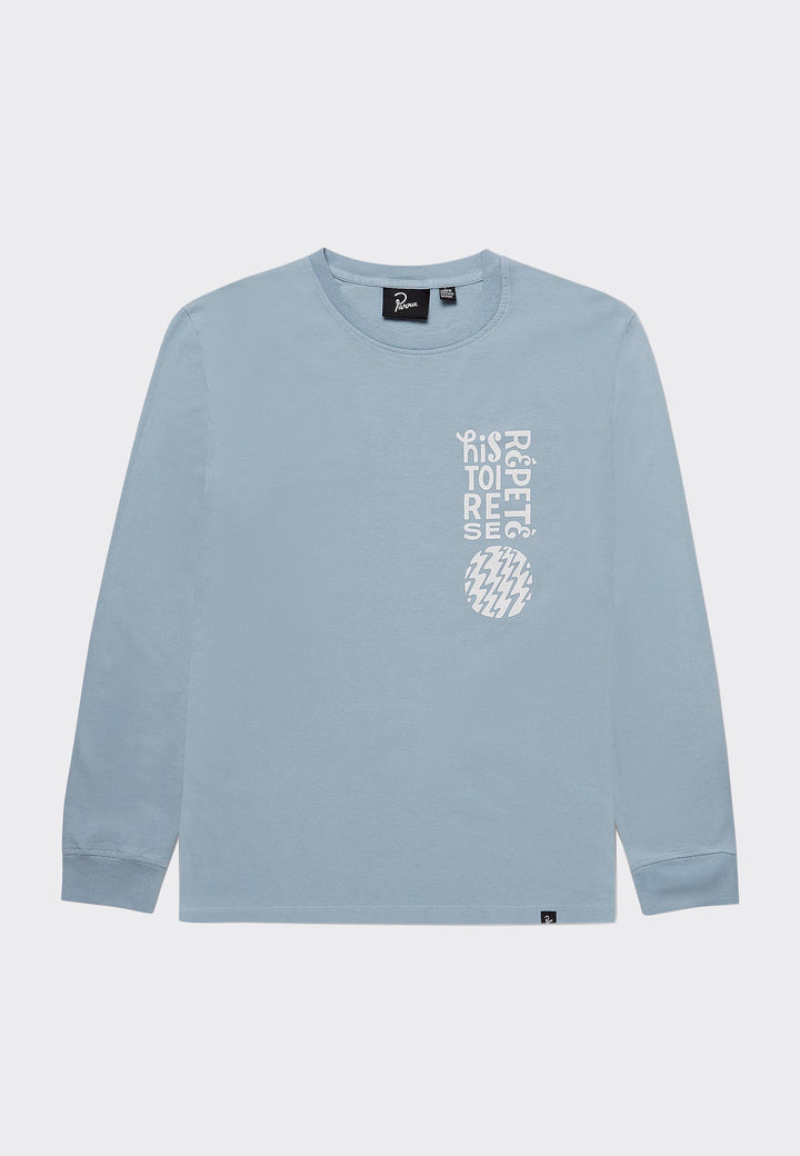 Histoire Long Sleeve T-Shirt - dusty blue