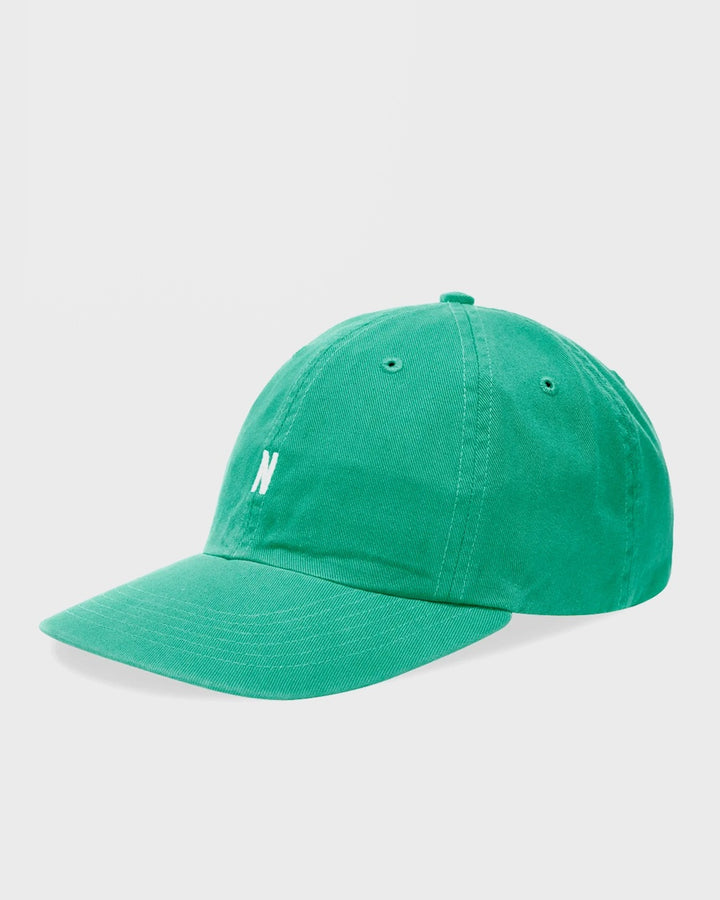 Norse Projects | Twill Sports Cap - sporting green | Good As Gold, NZ