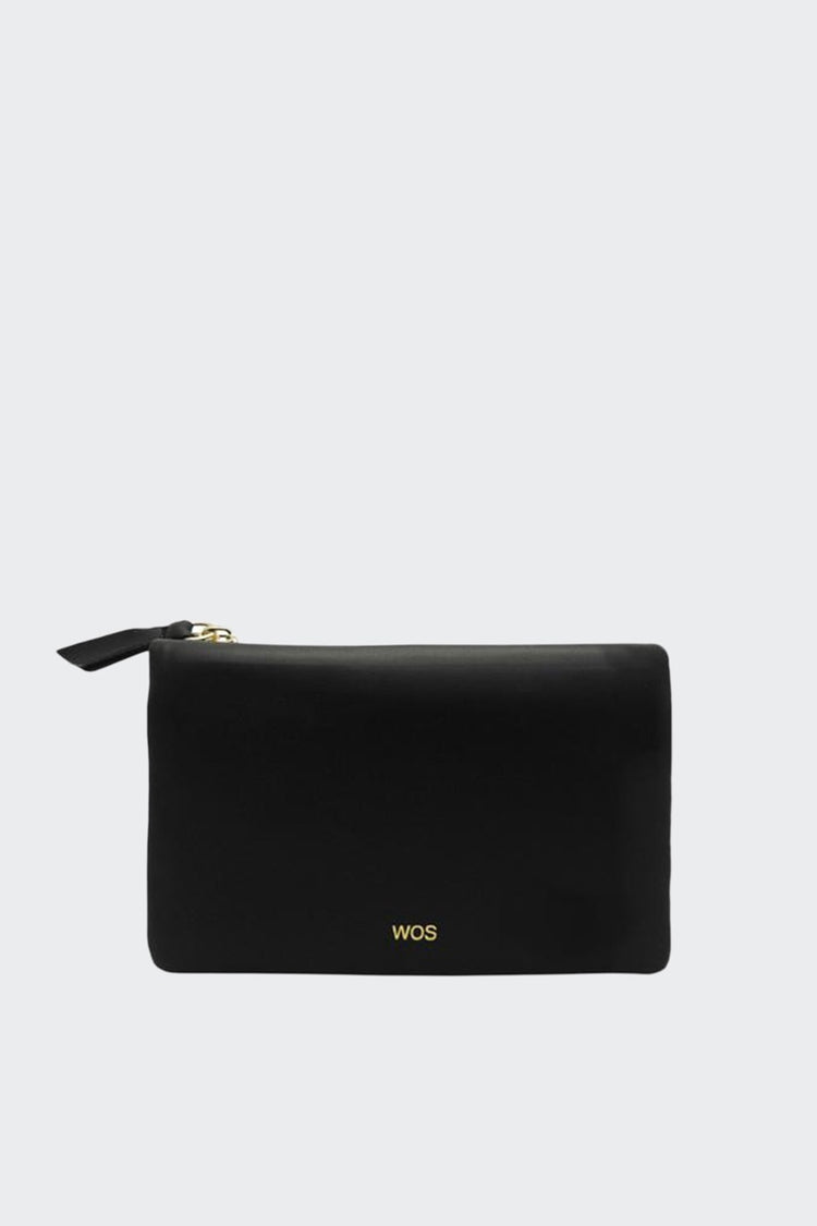 WOS Small Sensation Wallet - black smooth – Good as Gold