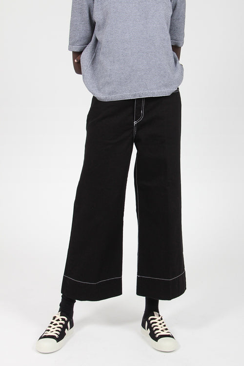 Skylar Ankle Jeans - black/white