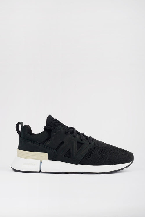 "New Balance MSRC1TBS ""Tokyo Design Studio"" - black/beige/blue – Good as Gold"