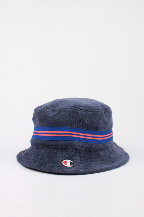 Champion Reverse Weave Bucket Hat - imperial indigo — Good as Gold