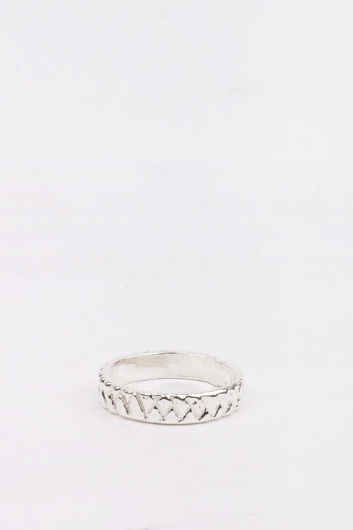 27 Mollys XX Thin Band Ring - silver | GOOD AS GOLD | NZ