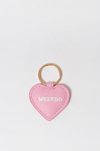 Lazy Oaf Pink Weirdo Keyring | GOOD AS GOLD | NZ