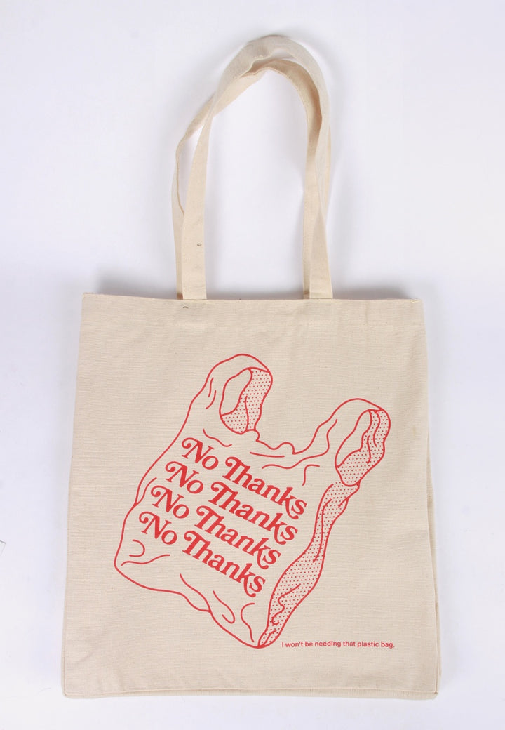 Parkby Projects No Thanks Tote Bag - natural - Good As Gold