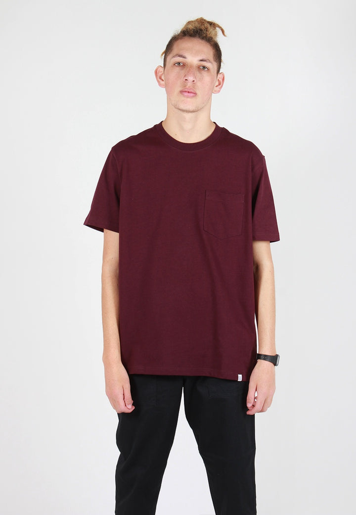 Norse Projects Johannes Pocket T-Shirt - ritteri purple - Good As Gold