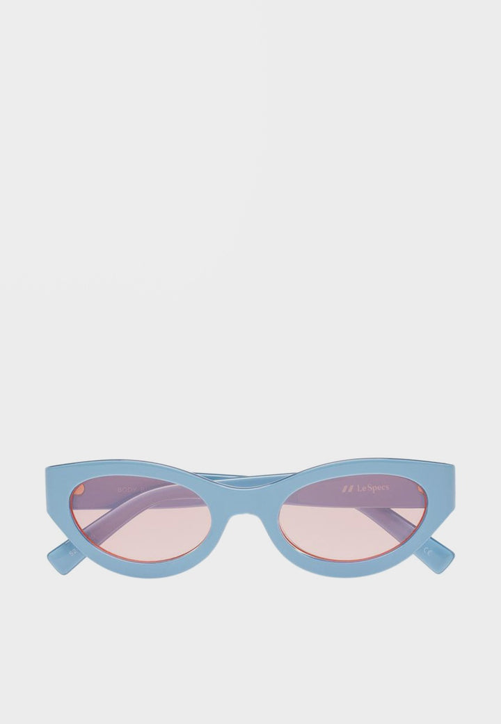 Le Specs Body Bumpin Sunglasses - powder blue - Good As Gold