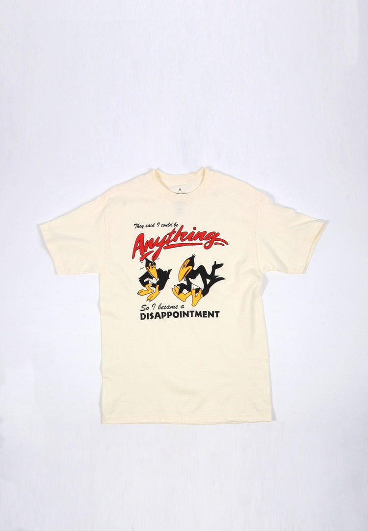 Disappointment T-Shirt - bone
